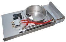 Pneumatic automatic damper